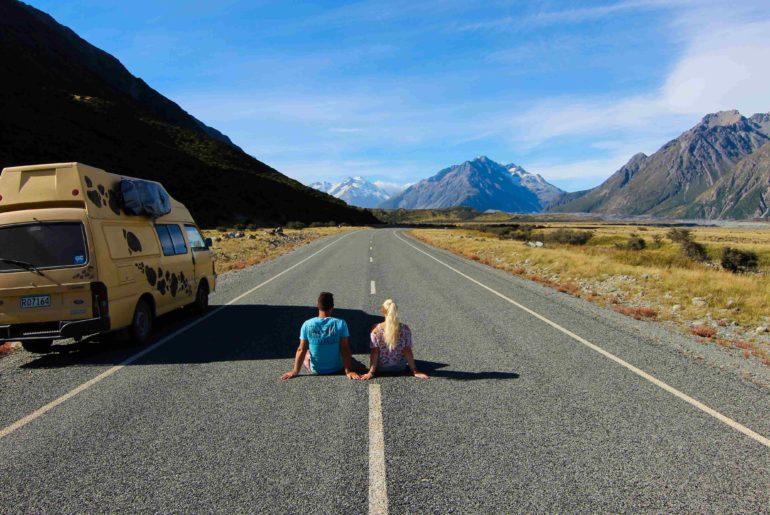 Wandern am Mount Cook