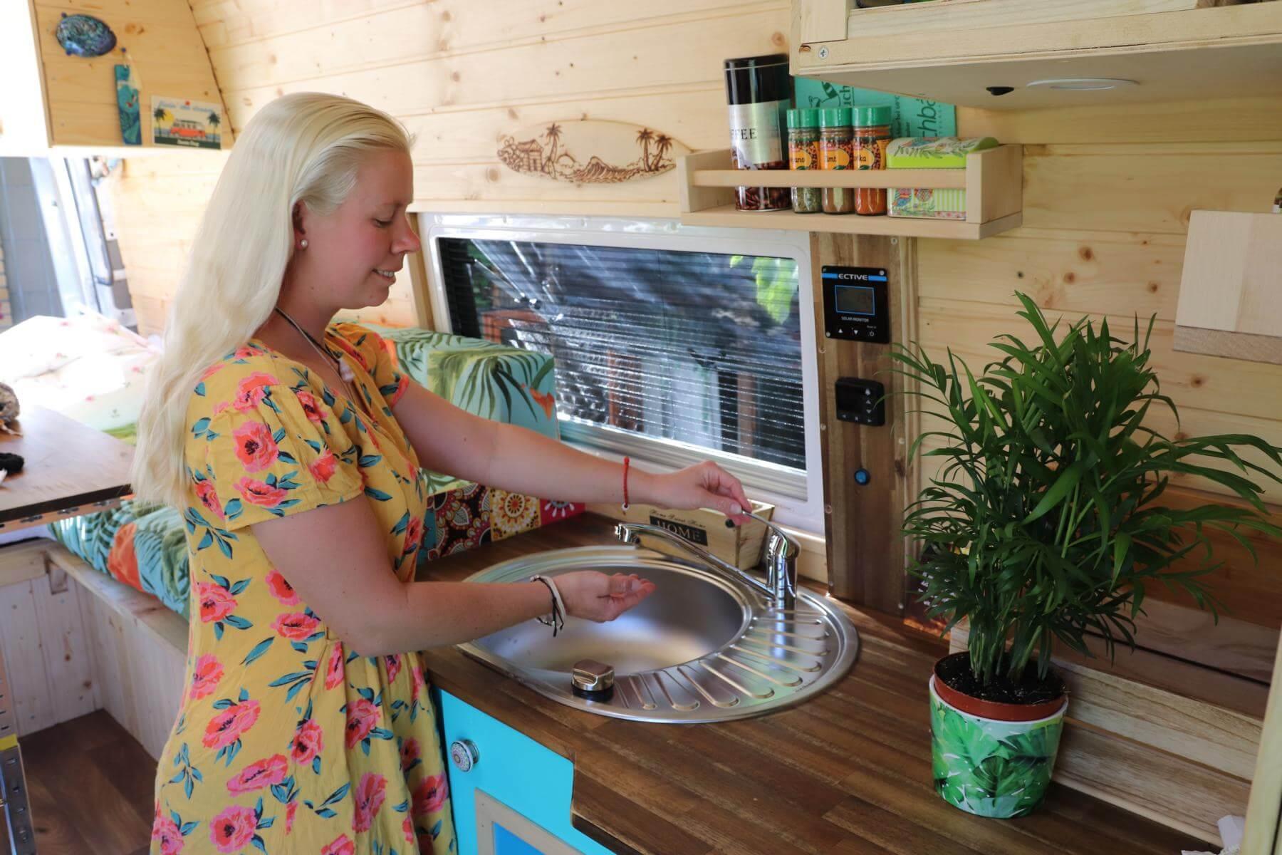 Wohnmobil Kuche Selber Bauen Kastenwagen Ausbau Abenteuer Vanlife